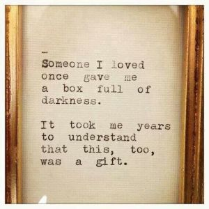 Box of darkness